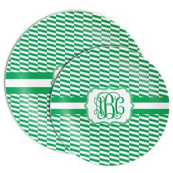 Zig Zag Melamine Plate (Personalized)