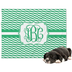 Zig Zag Minky Dog Blanket (Personalized)