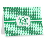 Zig Zag Note cards (Personalized)