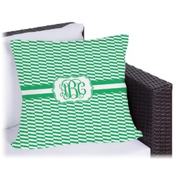 Zig Zag Outdoor Pillow (Personalized)