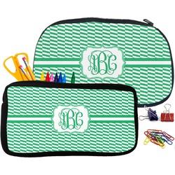 Zig Zag Pencil / School Supplies Bag (Personalized)