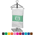Zig Zag Finger Tip Towel (Personalized)