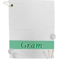 Zig Zag Golf Towel (Personalized)