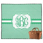 Zig Zag Outdoor Picnic Blanket (Personalized)
