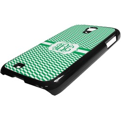 Zig Zag Plastic Samsung Galaxy 4 Phone Case (Personalized)