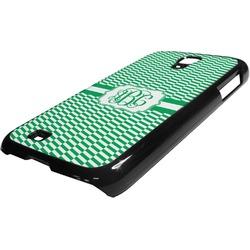 Zig Zag Plastic Samsung Galaxy 4 Phone Case (Personalized)