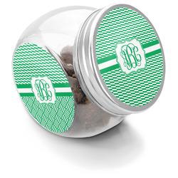Zig Zag Puppy Treat Jar (Personalized)