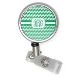 Zig Zag Retractable Badge Reel (Personalized)