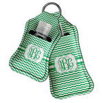 Zig Zag Hand Sanitizer & Keychain Holder (Personalized)