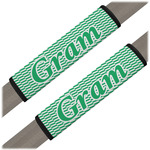 Zig Zag Seat Belt Covers (Set of 2) (Personalized)