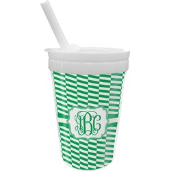 Zig Zag Sippy Cup with Straw (Personalized)