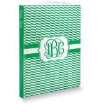 Zig Zag Softbound Notebook (Personalized)