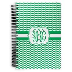 Zig Zag Spiral Bound Notebook (Personalized)
