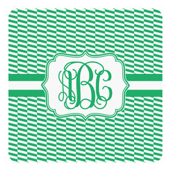 Zig Zag Square Decal - Medium (Personalized)