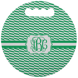 Zig Zag Stadium Cushion (Round) (Personalized)
