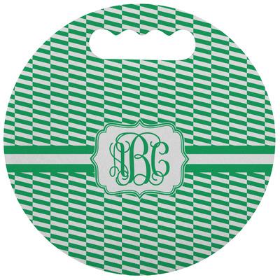 Zig Zag Stadium Cushion (Round) (Personalized)