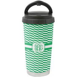 Zig Zag Stainless Steel Travel Mug (Personalized)