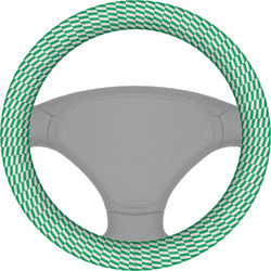 Zig Zag Steering Wheel Cover (Personalized)