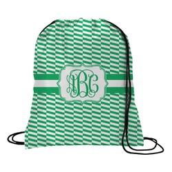 Zig Zag Drawstring Backpack (Personalized)