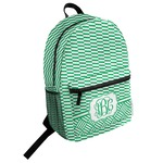 Zig Zag Student Backpack (Personalized)