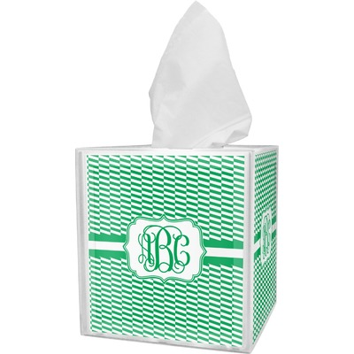 Zig Zag Tissue Box Cover (Personalized)