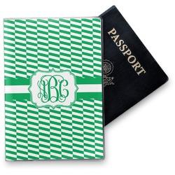 Zig Zag Vinyl Passport Holder (Personalized)