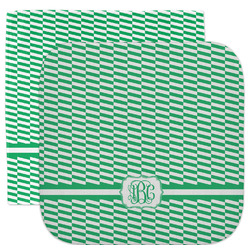 Zig Zag Facecloth / Wash Cloth (Personalized)