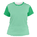 Zig Zag Women's Crew T-Shirt (Personalized)