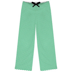 Zig Zag Womens Pajama Pants (Personalized)