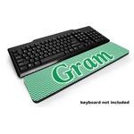 Zig Zag Keyboard Wrist Rest (Personalized)
