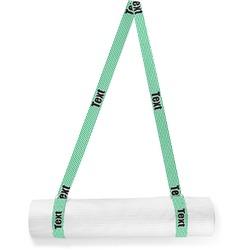 Zig Zag Yoga Mat Strap (Personalized)