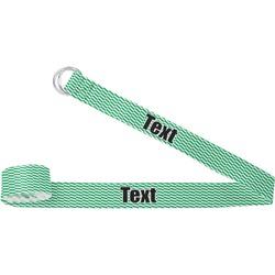 Zig Zag Yoga Strap (Personalized)