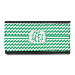 Zig Zag Leatherette Ladies Wallet (Personalized)