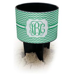 Zig Zag Black Beach Spiker Drink Holder (Personalized)