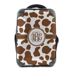 Cow Print Hard Shell Backpack (Personalized)