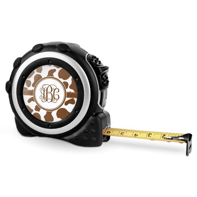 Cow Print Tape Measure - 16 Ft (Personalized)