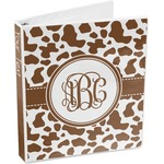 Cow Print 3-Ring Binder (Personalized)