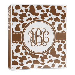 Cow Print 3-Ring Binder - 1 inch (Personalized)