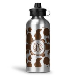 Cow Print Water Bottle - Aluminum - 20 oz (Personalized)