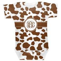 Cow Print Baby Bodysuit (Personalized)