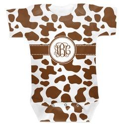Cow Print Baby Bodysuit 0-3 (Personalized)