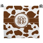 Cow Print Bath Towel (Personalized)