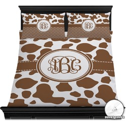 Cow Print Duvet Cover Set (Personalized)