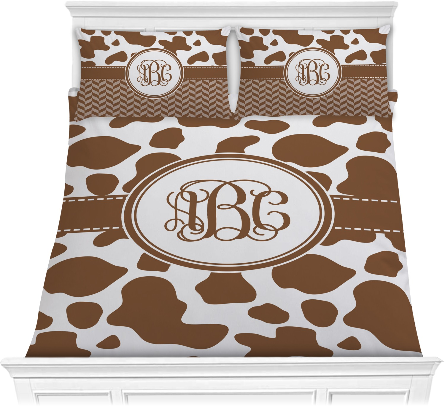Cow Print Comforters Personalized Youcustomizeit