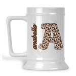 Cow Print Beer Stein (Personalized)