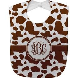 Cow Print Baby Bib (Personalized)