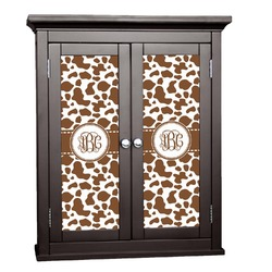 Cow Print Cabinet Decal - Small (Personalized)