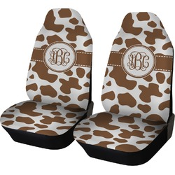 Cow Print Car Seat Covers (Set of Two) (Personalized)
