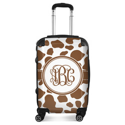 Cow Print Suitcase (Personalized)