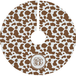 Cow Print Tree Skirt (Personalized)